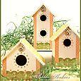 Bird Houses - Chipboard