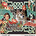 Raining Cats and Dogs Layout